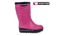 Сапоги Polyver WINTER Pink розовые женские