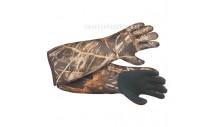 Перчатки непромокаемые для охоты на водоёме