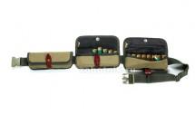 Закрытый патронташ VECTOR со съёмными подсумками на 24 патрона калибр 12, 16, 20