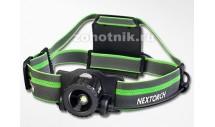 Фонарь налобный MY STAR H-SERIES NexTORCH, 550 LM, 4 режима, расцветка чёрно-зелёная